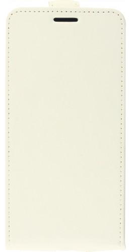 Fourre iPhone 12 mini - Vertical Flip blanc