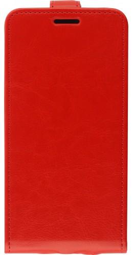 Fourre iPhone 12 mini - Vertical Flip rouge