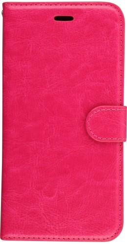 Fourre iPhone X / Xs - Premium Flip rose foncé