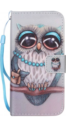 Fourre Samsung Galaxy S7 edge - Flip Fashion Owl