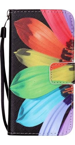 Fourre Samsung Galaxy S20 - Flip demi fleur