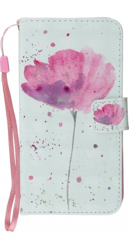 Fourre iPhone XR - Flip 3D Tulipe