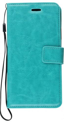 Fourre iPhone XR - Premium Flip turquoise