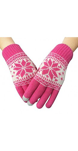 Gants tactiles Snow rose
