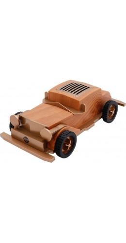 Haut-parleur Bluetooth vintage Apollo B2 au look rétro chic de voiture en bois
