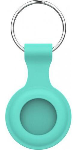 Porte-clés AirTag - Silicone turquoise