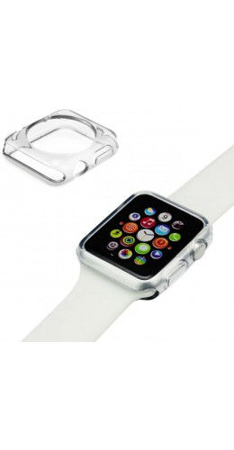 Housse Apple Watch 38mm - Gel transparent