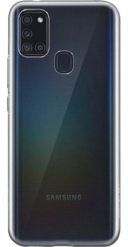 Housse Samsung Galaxy A21s - Gel transparent