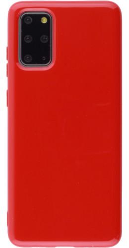 Housse Samsung Galaxy S20+ - Gel rouge