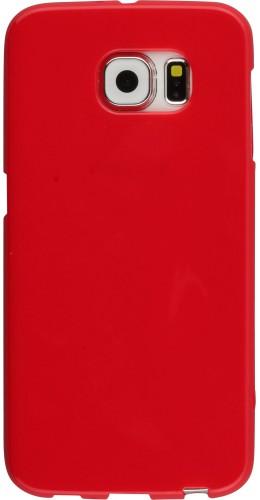 Housse Samsung Galaxy S6 - Gel rouge