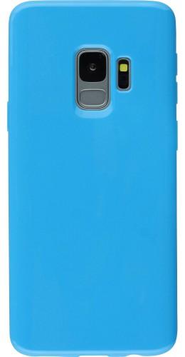 Housse Samsung Galaxy S9+ - Gel bleu