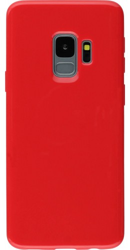 Housse Samsung Galaxy S9 - Gel rouge