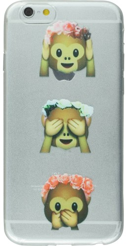 Housse Samsung Galaxy S5 - Emoji 3 monkey