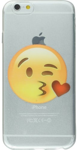 Housse iPhone 6/6s - Emoji Kiss