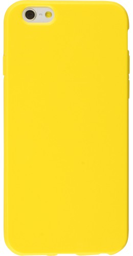 Housse iPhone 7 Plus / 8 Plus - Gel jaune