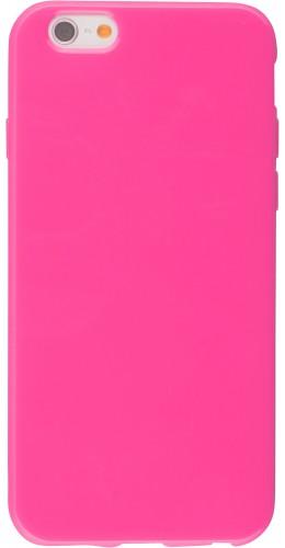 Housse iPhone 6/6s - Gel rose foncé