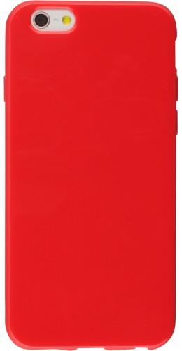 Housse iPhone 6/6s - Gel rouge