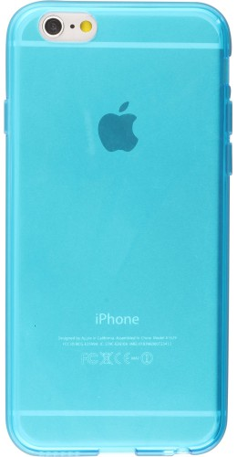 Housse iPhone 7 Plus / 8 Plus - Gel transparent bleu
