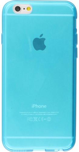 Housse iPhone 6 Plus / 6s Plus - Gel transparent bleu
