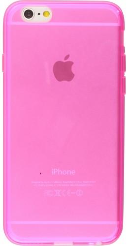 Housse iPhone 6/6s - Gel transparent rose