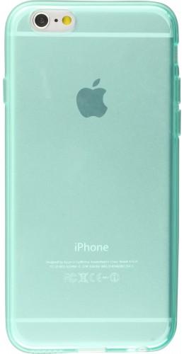 Housse iPhone 6 Plus / 6s Plus - Gel transparent vert menthe