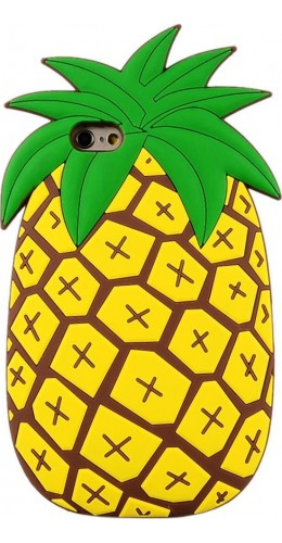 Housse iPhone 7 / 8 / SE (2020) - 3D Ananas