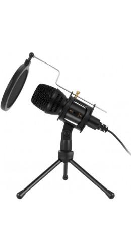 Kit microphone professionnel à condensateur streaming et studio