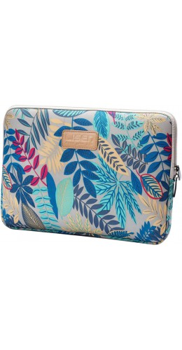 Lisen fourre jungle laptop 13 pouces, ordinateur portable, iPad, macBook - Bleu clair