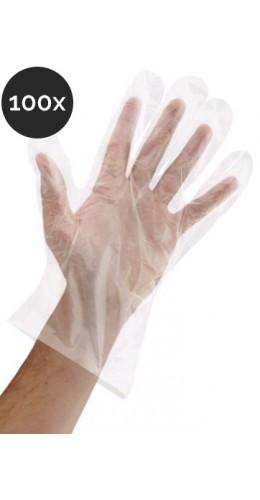 Lot de 100 gants jetables (50 paires)