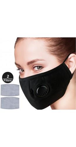Masque respiratoire N95 (2 filtres charbon actif)