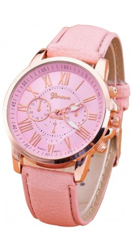Montre Geneva rose
