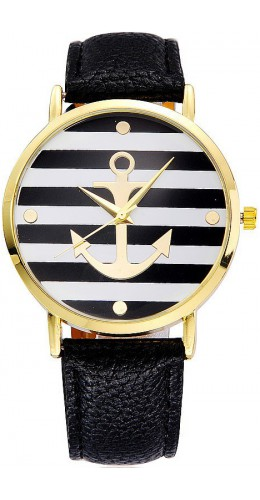 Montre anchor noir