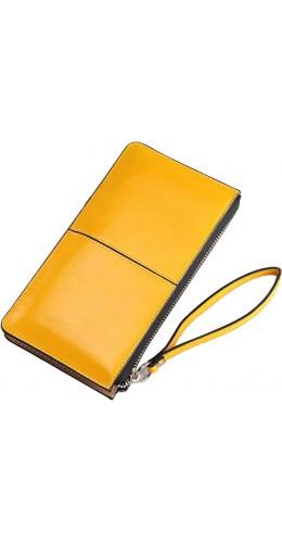 """Pochette Smartphone jusqu'à 5.5"""" jaune"""