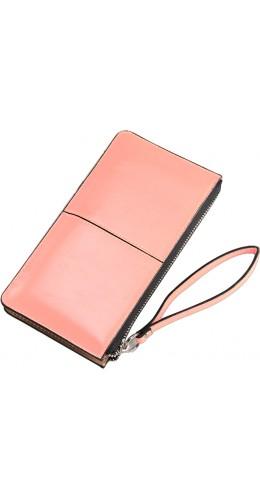 Pochette Smartphone jusqu'à 5.5 pouces rose clair