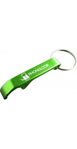 Porte-clés décapsuleur PhoneLook vert