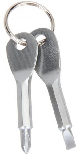 Porte-clés double tournevis
