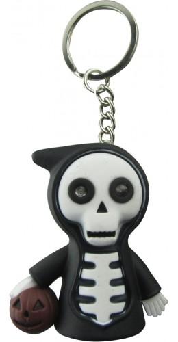 Porte-clés squelette LED