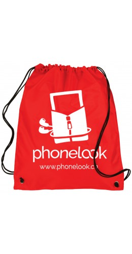 Sac de festival en nylon PhoneLook rouge