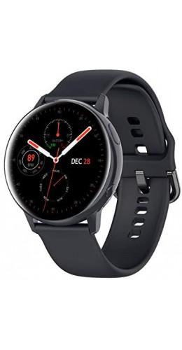 WearFit 2.0 - Montre connectée avec écran tactile et programmes de sport - Noir
