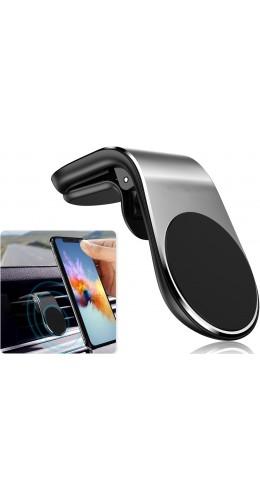 Support téléphone magnétique pince ventilation voiture