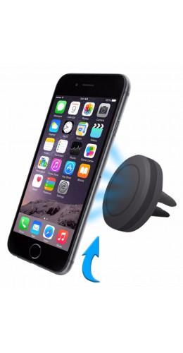 Support téléphone magnétique ventilation voiture