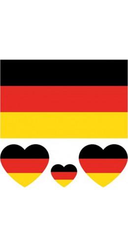 Tatouage temporaire Allemagne