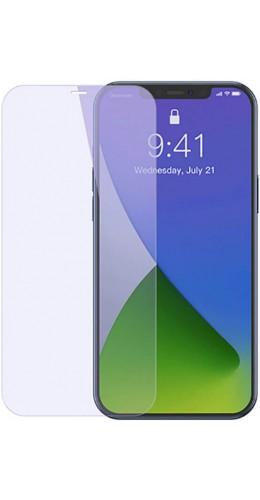 Tempered Glass iPhone 12 / 12 Pro - Vitre de protection anti-lumière bleue