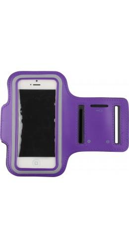 """Brassard de sport violet 5.2"""" - 5.7"""" (large)"""