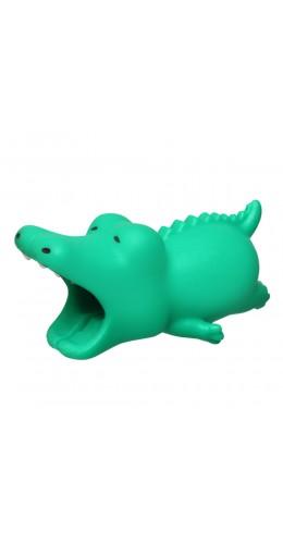 Embout de câble décoratif animal Crocodile