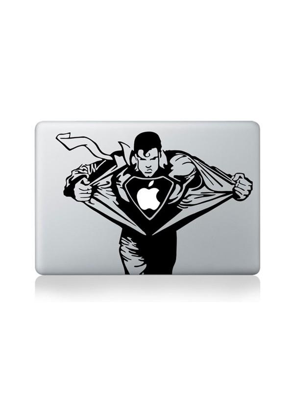 "Autocollant MacBook 13"" -  Superman"