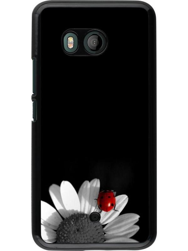 Coque HTC U11 - Black and white Cox
