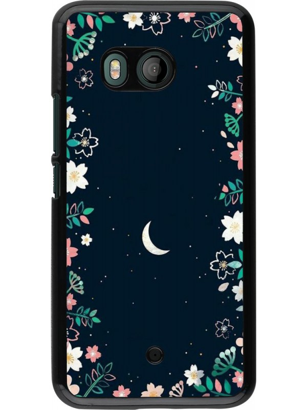 Coque HTC U11 - Flowers space