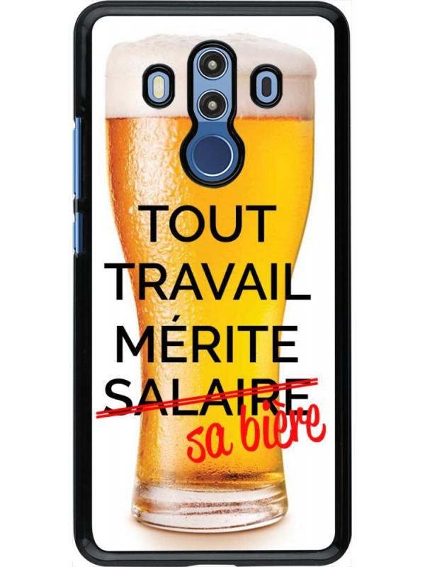 Coque Huawei Mate 10 Pro - Tout travail mérite sa bière