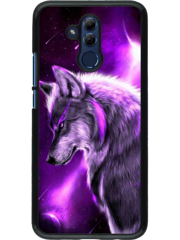 Coque Huawei Mate 20 Lite - Purple Sky Wolf